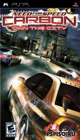 psp, psp ����, psp �������, psp ��������� �������, ��������� ���� pspNeed for Speed Carbon: Own the City [Rus]