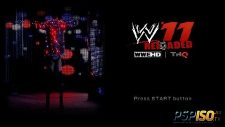 Wwe 11 reloaded release 2012 psp eng