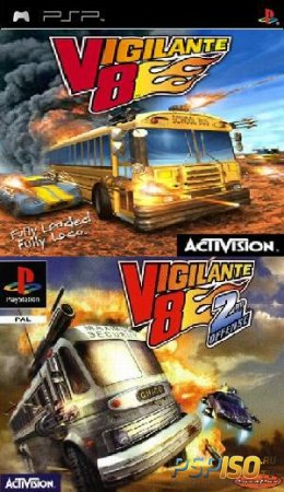 Vigilante 8 Full Collection (PSP-PSX/ENG)