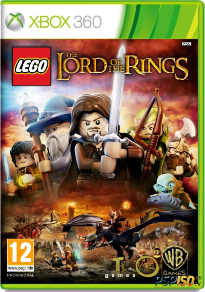 lego the lord of the rings region free rus