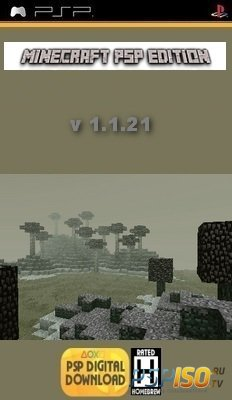 Minecraft PSP Edition v1.1.21 [HomeBrew][2014]
