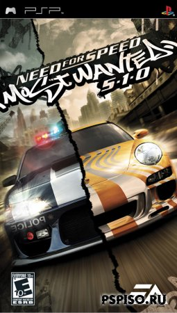 psp, psp ����, psp �������, psp ��������� �������, ��������� ���� pspNeed for Speed: Most Wanted 5-1-0 (RUS)